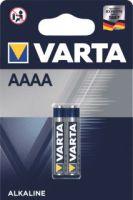 Varta AAAA ALKALINE Batterij 2 stuks