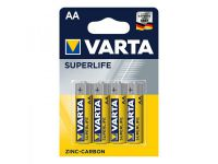 Varta Superlife batterijen AA 4 stuks in blister