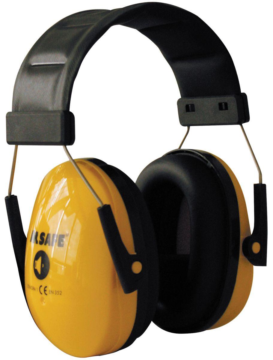msafe sonora 1 gehoorkap met hoofdband