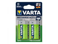 Varta Recharge Accu Power batterijen D 3000 mAh 2 stuks in blister