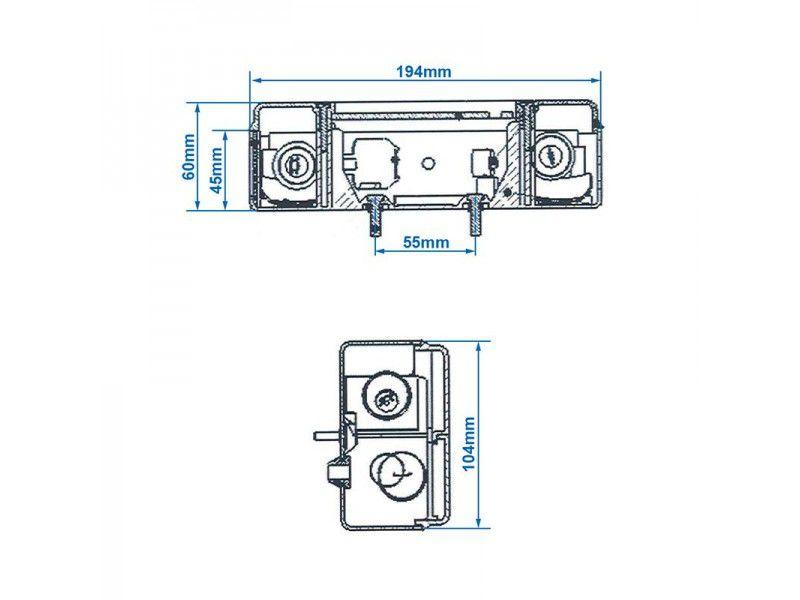 achterlicht 5 functies 194x104mm links
