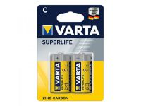 Varta Superlife batterijen C 2 stuks in blister