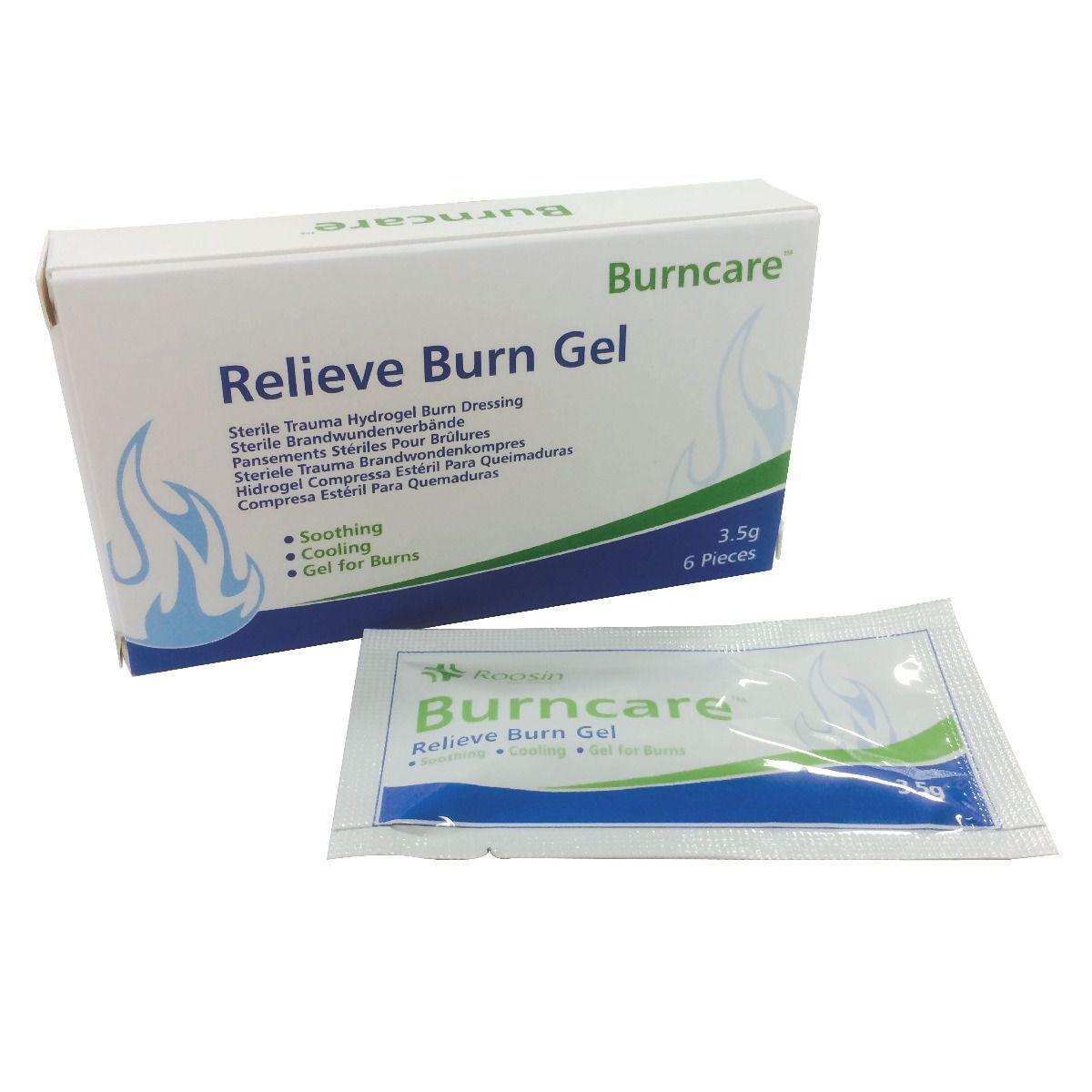 burncare gel sachet 35 gram per 100 stuks in een zak
