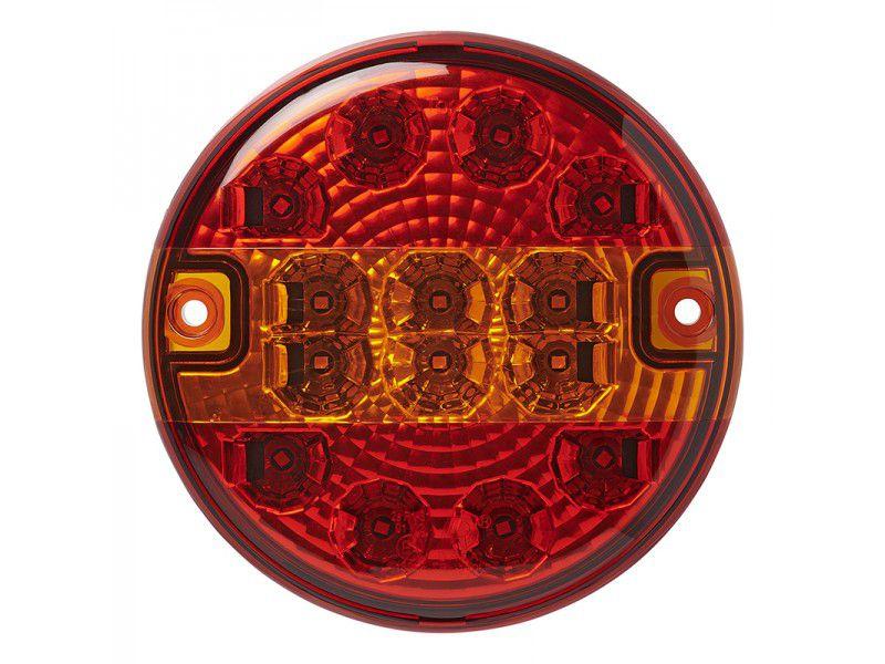 achterlicht 3 functies 140mm 14led
