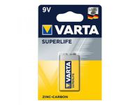 Varta Superlife batterij 9V in blister