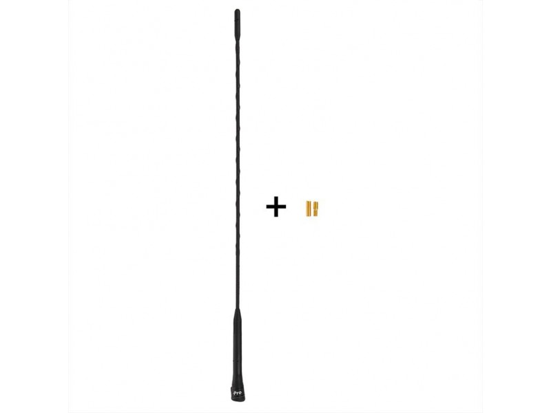 auto antenne 40cm incl m5 m6 adapters