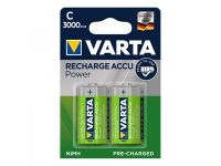Varta Recharge Accu Power batterijen C 3000 mAh 2 stuks in blister