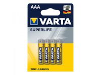 Varta Superlife batterijen AAA 4 stuks in blister