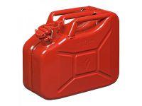 Jerrycan 10L metaal rood UN- & TüV/GS-gekeurd