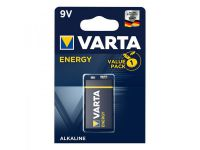 Varta Energy Alkaline batterij 9V in blister