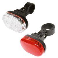 Dresco verlichtingsset Classic led batterijen rood/zwart/wit